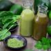 Mint and avocado juice